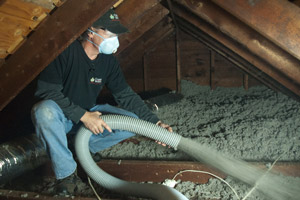 Cellulose Insulation Installation In Greater Gainesville